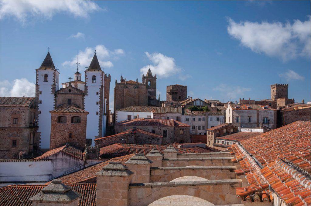 Cáceres ciudad monumental